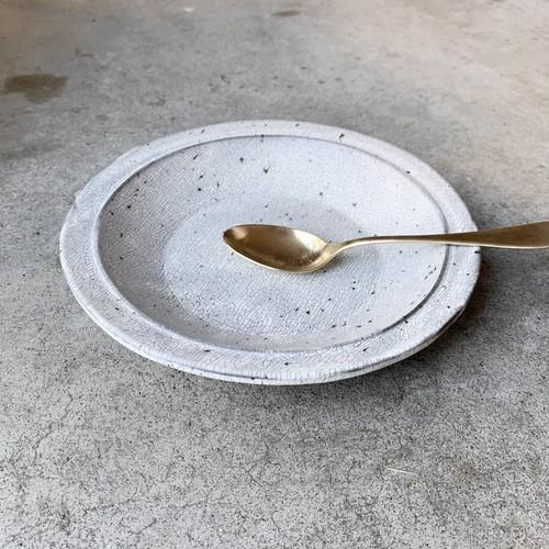 大原拓也 烈粉引 スープ皿