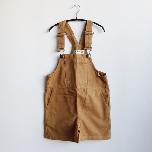 《main story 2021SS》Short Dungaree / Cinnamon