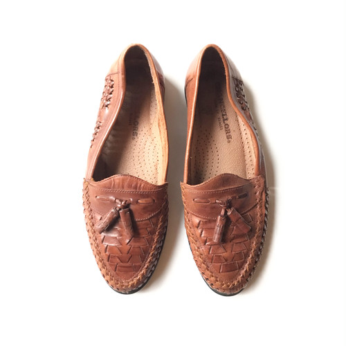 """ CHANCELLORS "" (Made in Brazil) Lether Mesh Loafer"