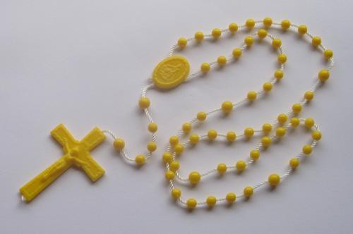 TheDelight COLOR ROSARIO PENDANT YELLOW
