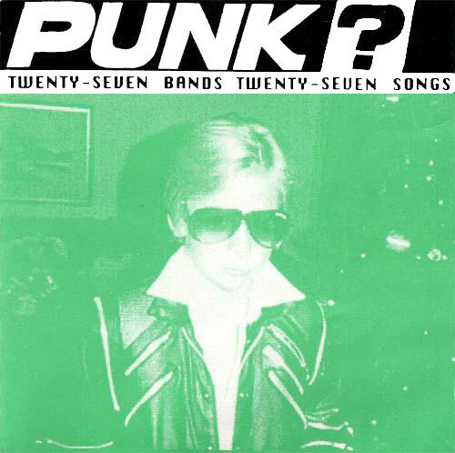 v/a / punk? a 27 band punk rock compilation cd USED