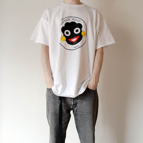 "PATRICK KELLY ""FACE LOGO"" Tee"