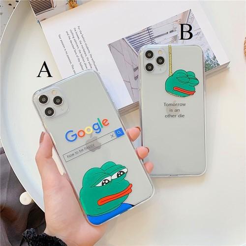 【オーダー商品】Frog pepe iphone case