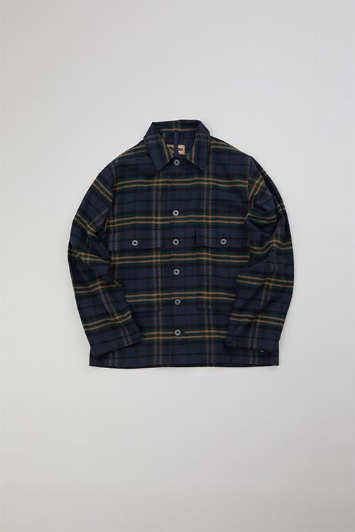 USMCシャツ / USMC SHIRT - BRUSHED COTTON CHECK
