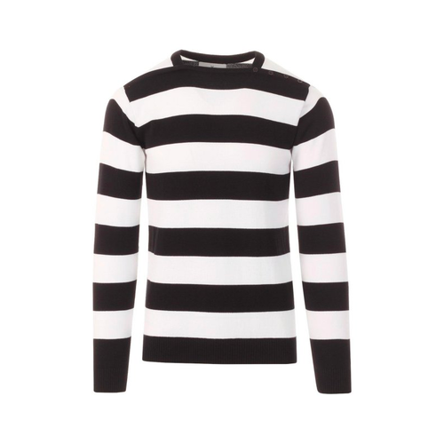 MADCAP ENGLAND | Brian Jones style Block Stripe Jumper - Black×White