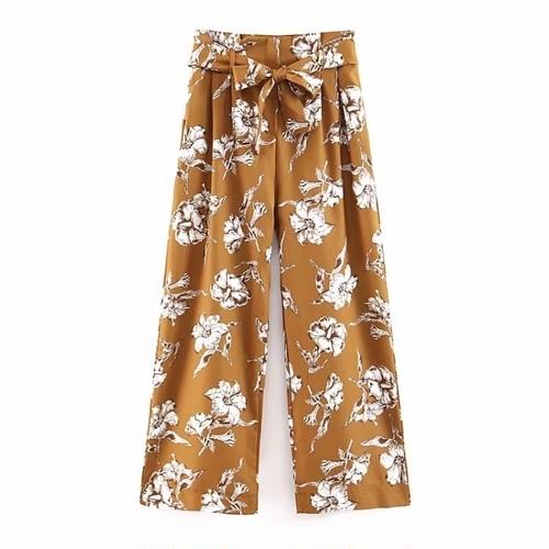 ♡送料無料♡ import フローラルプリント ロング パンツ【お取り寄せ】