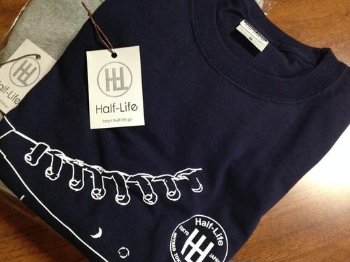 再販売! Half-Life厚手 Tシャツ(ネイビー Sサイズ)