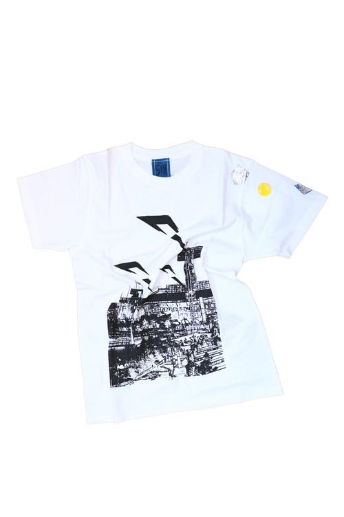 NO.518 甲子園球場のTシャツ【兵庫】【XSサイズ】