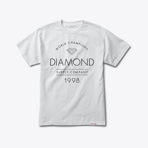 Diamond Supply Co. - Craftsman tee WHITE
