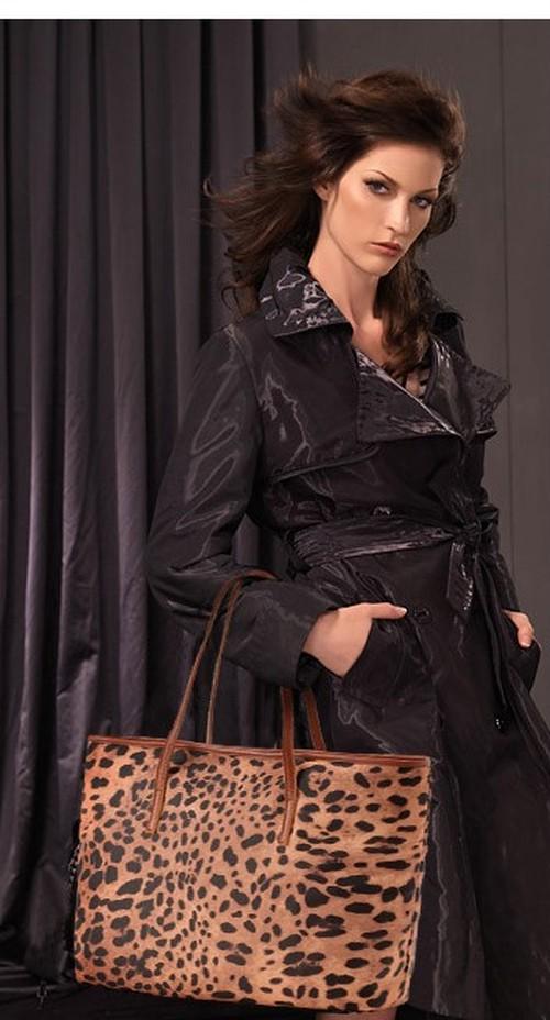 バッグ トートバック レオパード トレンド 秋 ワンカラー ショルダーバッグ 秋 大きめバッグ W45