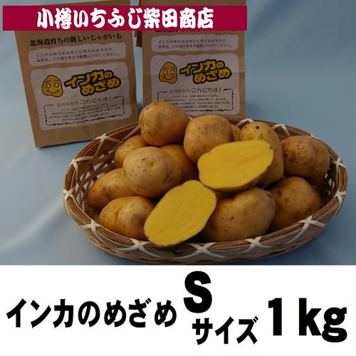 P5  1kg袋 インカのめざめ Sサイズ 北海道産