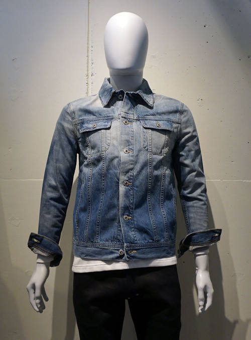 AG adriano goldschmied Dart Jacket 12YEARS SMOKE INDIGO