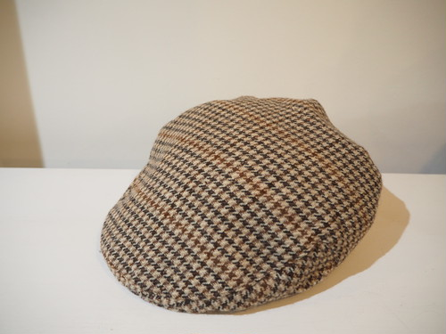 Houndstooth Check Hunting Cap / Made in U.K [C-436]