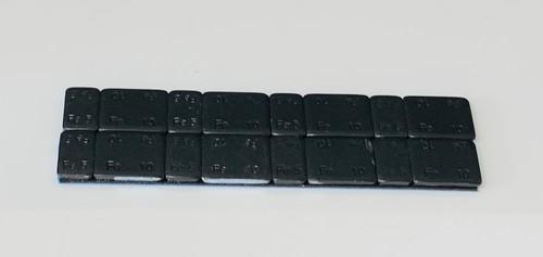 ◆格安◆ スチールブラックウエイト 5gx8個+10gx8個=合計120gセット
