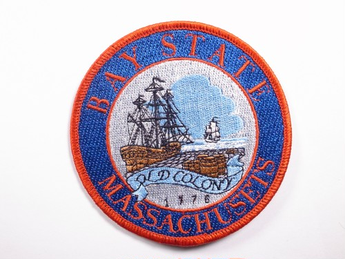 "PATCH""BAY STATE MASSACHUSETS"""
