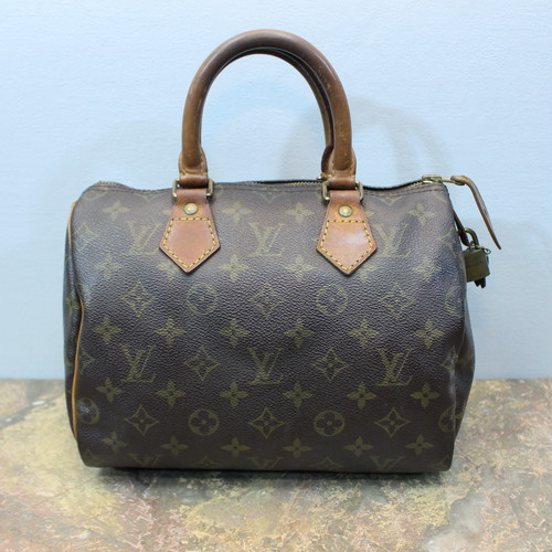 .LOUIS VUITTON VI0932 SPEEDY MONOGRAM PATTERNED BOSTON BAG MADE IN FRANCE/ルイヴィトンスピーディ25モノグラム柄ボストンバッグ 2000000031088