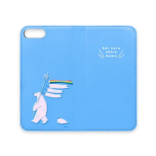 手帳型iPhoneケース(こいのぼり)iPhone Plus / X /11