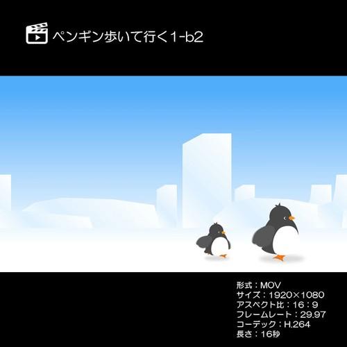 ペンギン歩いて行く1-b2