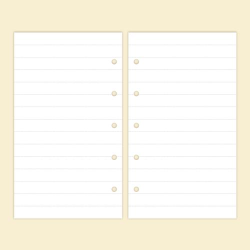 7mmの横罫ノート/マイクロ5