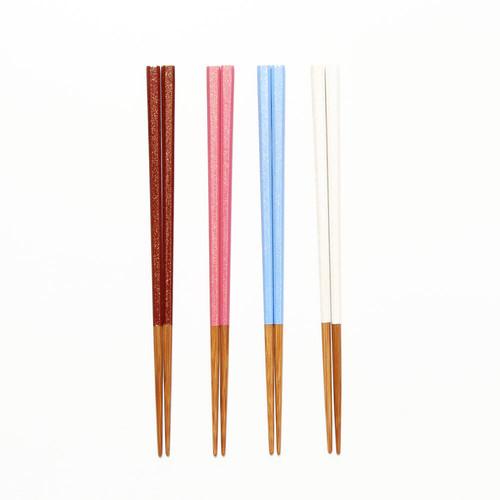 金砂子供箸18cm k0087-90