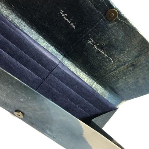黒谷和紙の財布【海洋】