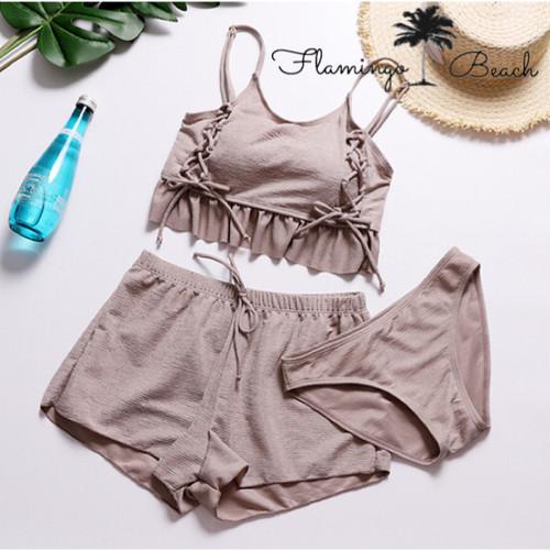 【FlamingoBeach】camisole bikini 3点セット