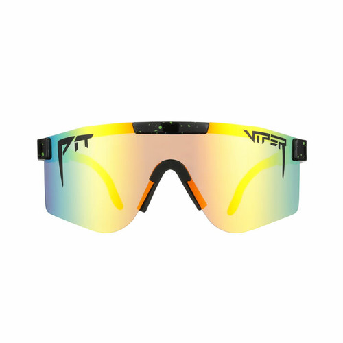 PIT VIPER - THE MONSTER BULL POLARIZED  / Orange Revo Mirror(偏光レンズ)  / DOUBLE WIDE