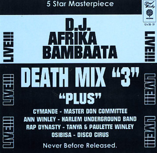 D.J. Afrika Bambaataa / Death Mix 3(CD)