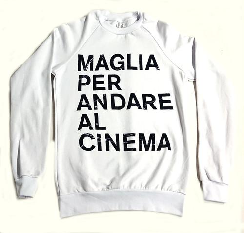 MAGLIA(マリア) スウェット CINEMA ホワイト