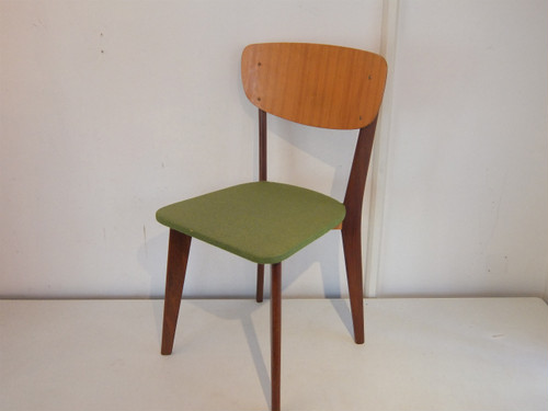 Holland Teak Frame Dining Chair 1