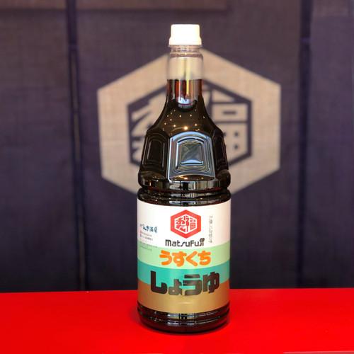 うすくち醤油  1.8リットル