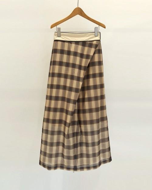 TODAYFUL トゥデイフル Check Wraparound Skirt  12010812
