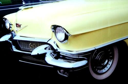 品番0060 新品 ガラスア―ト 9006 『Cadillac キャデラック』 壁飾り 飾り板 アメリカン雑貨