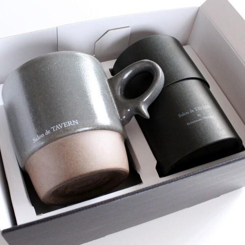 """Salon de TAVERN """"TEA&MAG"""" SET / Cacao + Mug -Gray"""