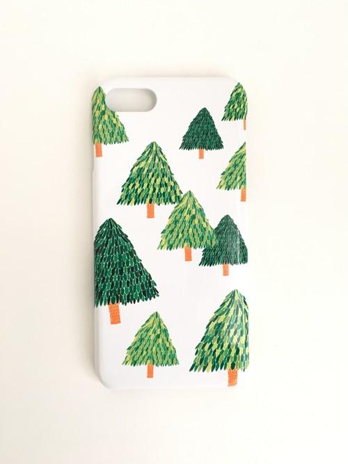 木のスマホケース