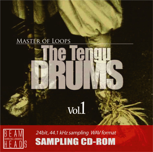 The Tengu DRUMS  Vol.1  ループ素材/サンプリング CD