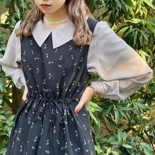 (LOOK) design collar blouse