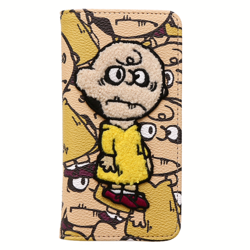 NaNa-NaNa×BESIDE THE BAG/Dead Brown/iPhone 7 . 6s. 6 case