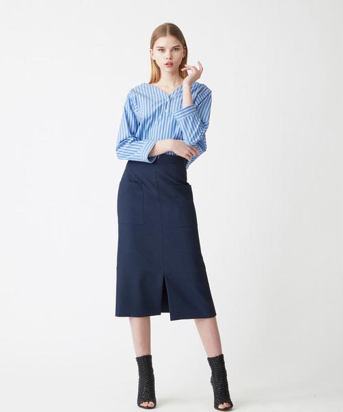 ポケットタイトスカート(ネイビー)