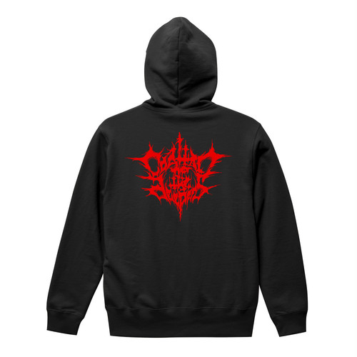 COALTAR OF THE DEEPERS - BLACK METAL LOGO (2nd Edition) PULLOVER HOODIE