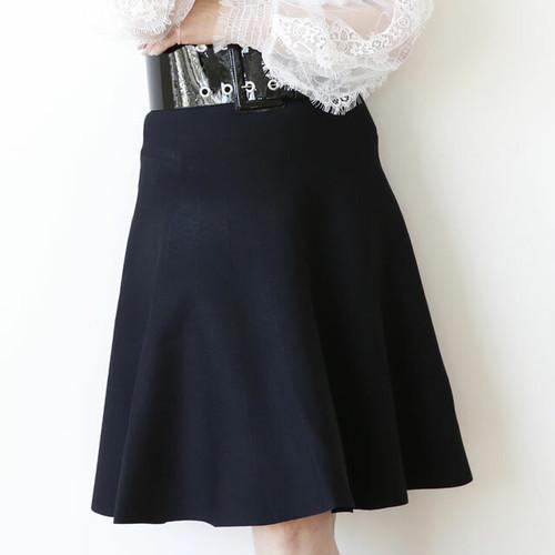 ニットフレアースカート:REB-78 ¥22,000+tax