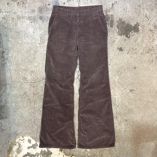 70's Levi's velour bell bottom pants
