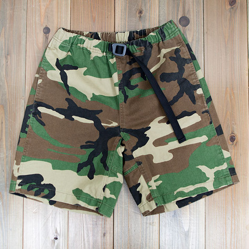 COOCHUCAMP : Happy shorts / Woodland camo
