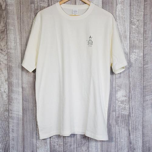 MOZEN ISLAND T-shirt【OFF WHITE】