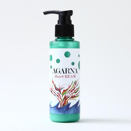 【乾かす前にワンプッシュ】ゼロマイル AGARNA hair Cream アガーナヘアクリーム 140g 洗い流さないヘアトリートメント
