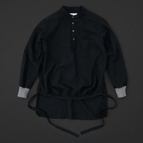 エンゲイシャツ 黒×灰