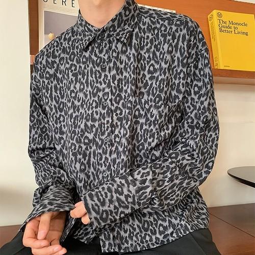 【FAST】ワンポケットレオパードシャツ WBL7061