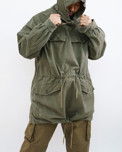 <SOLD OUT>French Military - Smock Parka Long