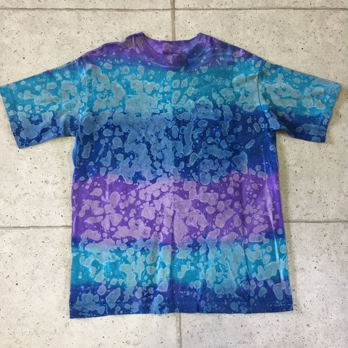 90s タイダイブリーチ Tシャツ size:ONE