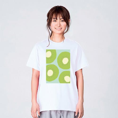 フルーツ キウイ Tシャツ メンズ レディース かわいい イラスト 夏 大きいサイズ 160 S M L XL